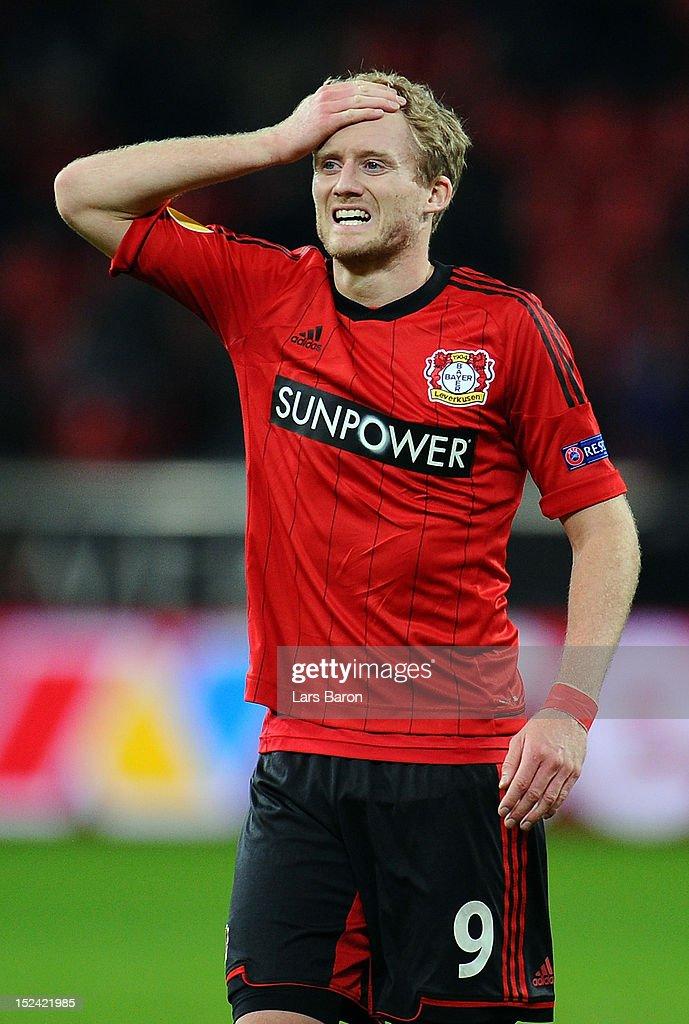 Bayer Leverkusen v FC Metalist Kharkiv - UEFA Europa League : ニュース写真