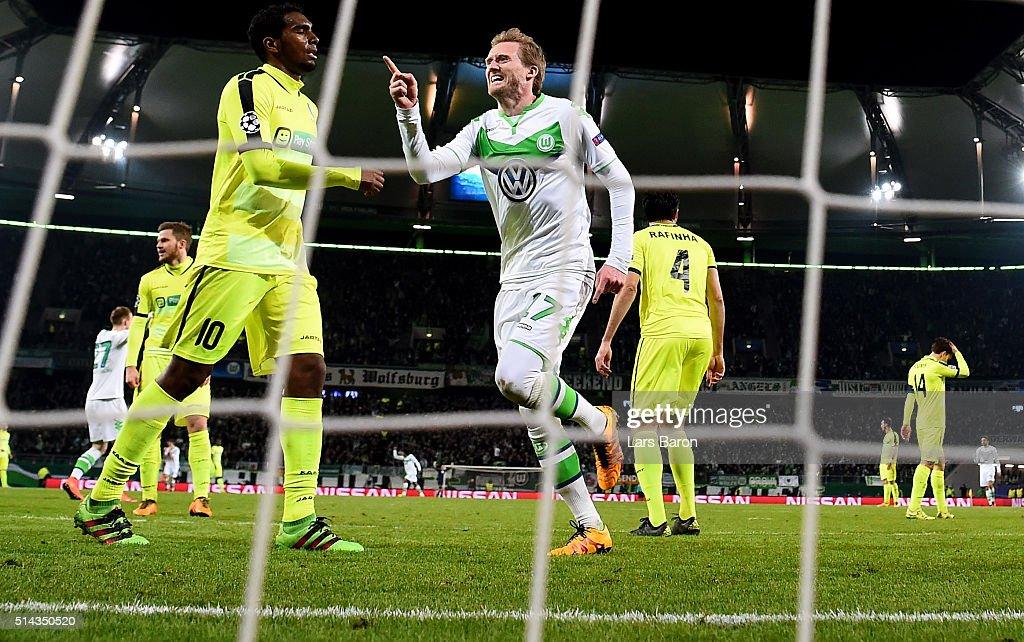 VfL Wolfsburg v KAA Gent - UEFA Champions League Round of 16: Second Leg