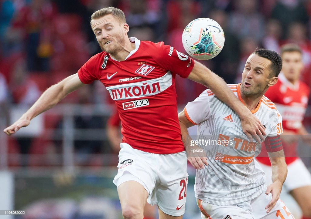 FC Spartak Moscow vs  FC Ural Yekaterinburg - Russian Premier League : News Photo