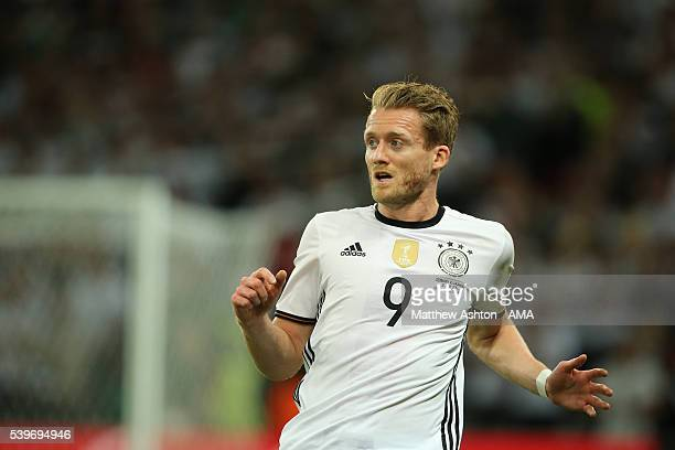 Andre Schurrle of Germany during the UEFA EURO 2016 Group C match between Germany and Ukraine at Stade PierreMauroy on June 12 2016 in Lille France