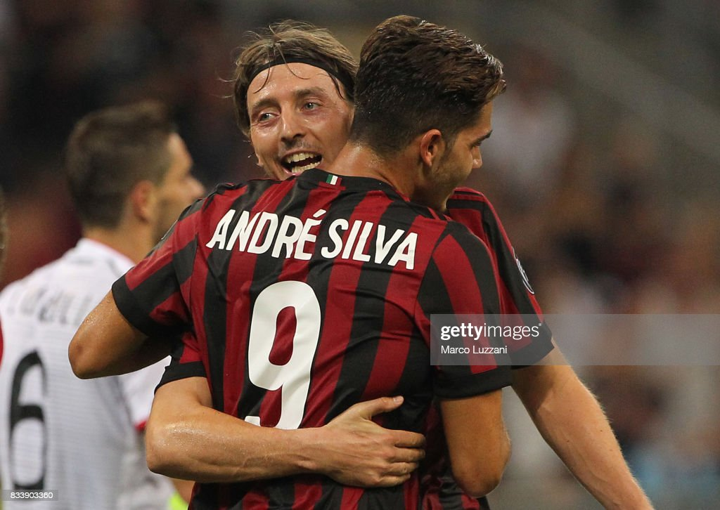 AC Milan v KF Shkendija 79 - UEFA Europa League Qualifying Play-Offs Round: First Leg : News Photo
