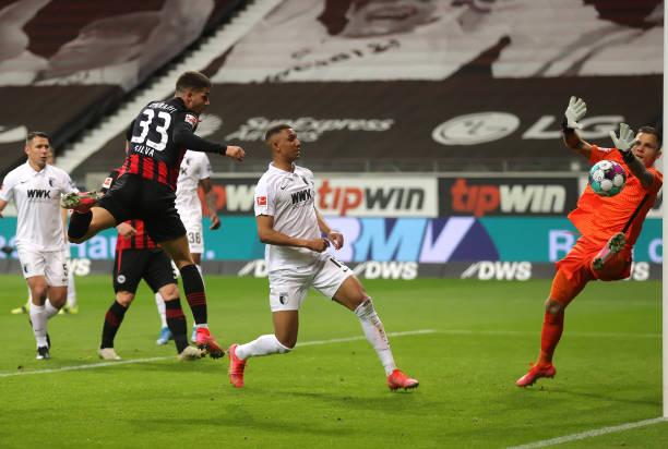 DEU: Eintracht Frankfurt v FC Augsburg - Bundesliga