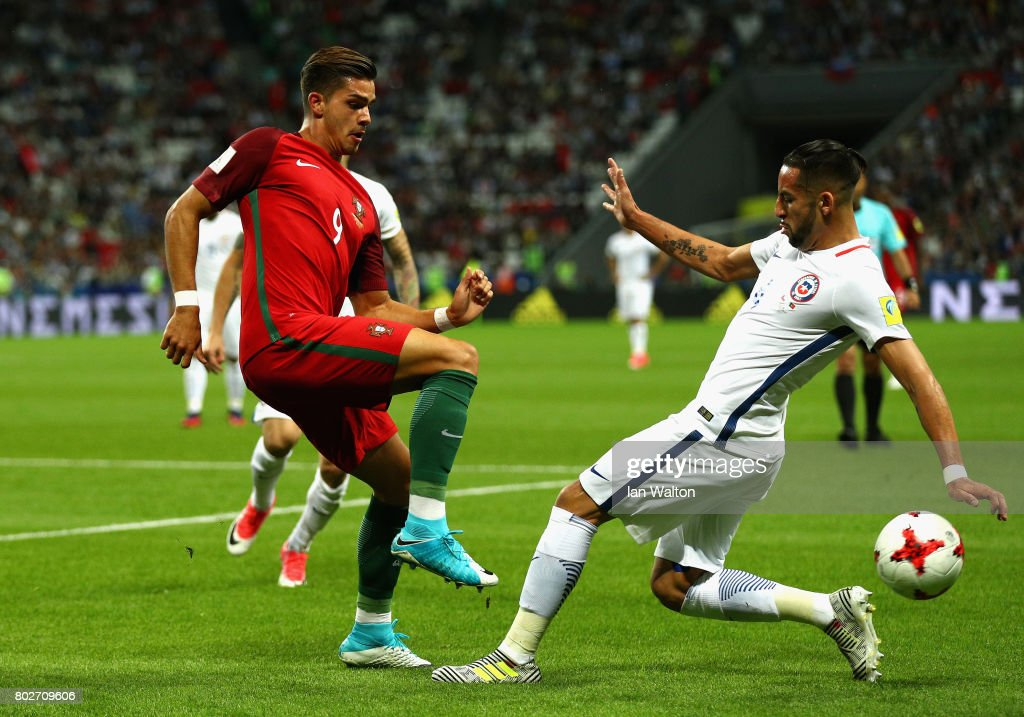 Portugal v Chile: Semi-Final - FIFA Confederations Cup Russia 2017 : News Photo