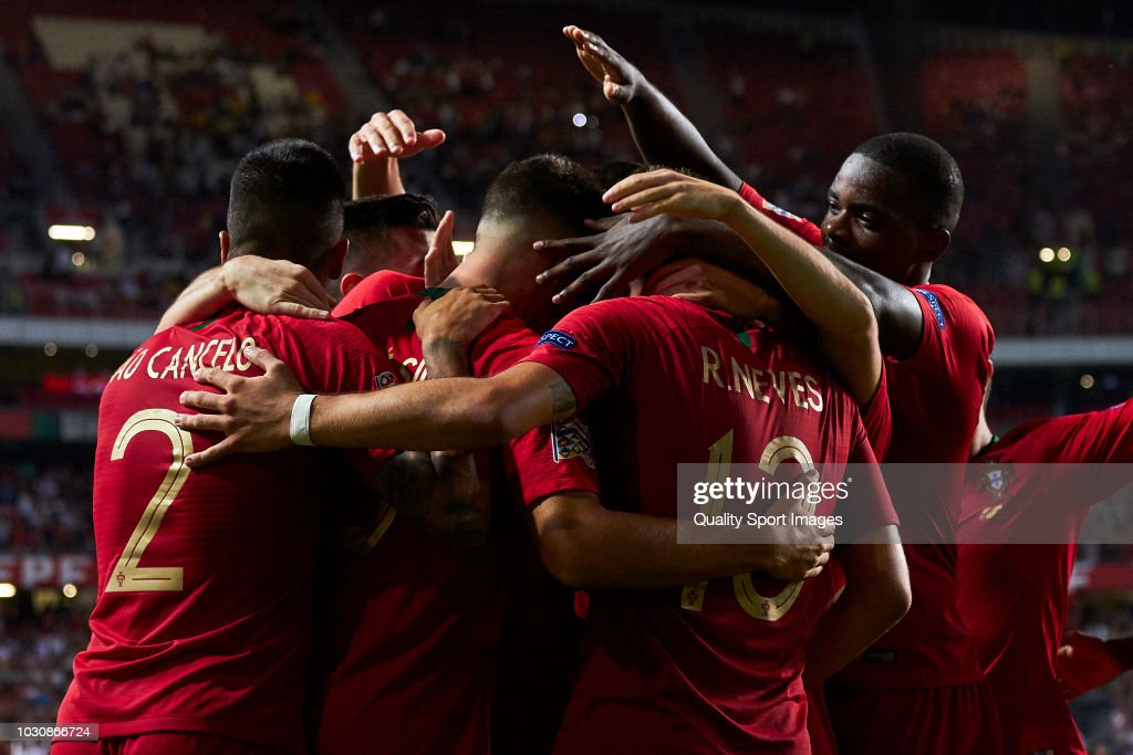 Portugal v Italy - UEFA Nations League A : Photo d'actualité