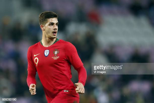 Andre Silva of Portugal during the International friendly match match between Portugal and The Netherlands at Stade de Genève on March 26 2018 in...