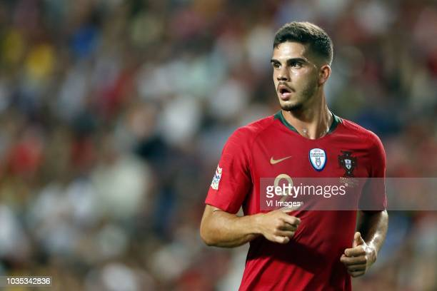 Andre Silva of Portugal during the UEFA Nations League A group 3 qualifying match between Portugal and Italy at Estadio La Luz on September 10 2018...