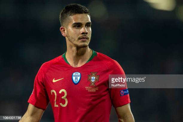 Andre Silva of Portugal during the UEFA Nations League A Group 3 match between Portugal and Poland at Estadio D Afonso Henriques in Guimaraes...