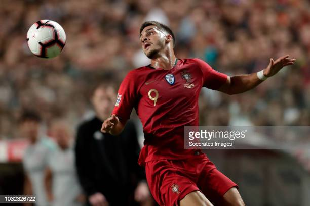 Andre Silva of Portugal during the UEFA Nations league match between Portugal v Italy at the Jose Alvalade on September 10 2018 in Lisbon Portugal