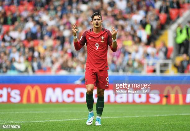 Andre Silva of Portugal reacts during the FIFA Confederations Cup Russia 2017 PlayOff for Third Place between Portugal and Mexico at Spartak Stadium...