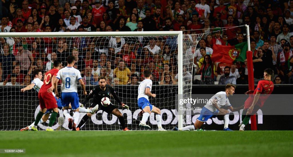 Portugal v Italy - UEFA Nations League A : News Photo