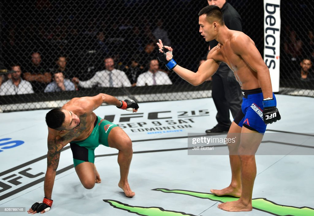 UFC Fight Night: Pettis v Moreno