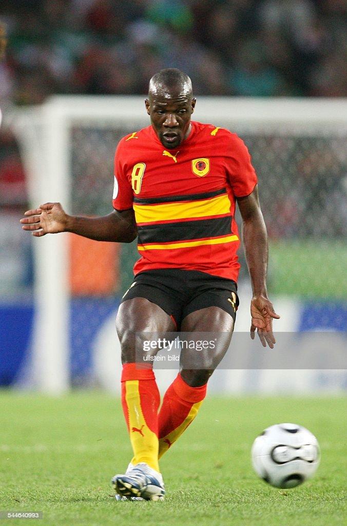 Andre Sportler Fussball Angola Fifa Wm 2006 Aktioon Am