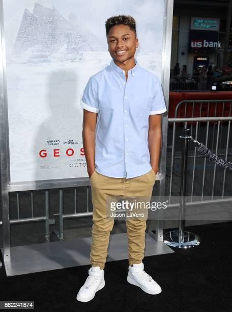Andre Swilley attends the premiere of 'Geostorm' at TCL Chinese Theatre on October 16 2017 in Hollywood California