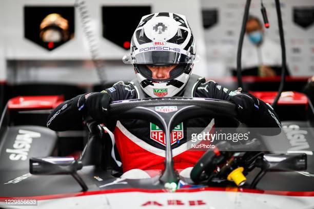 Andre , TAG Heuer Porsche Formula E Team, Porsche 99X Electric, portrait during the ABB Formula E Championship official pre-season test at Circuit...
