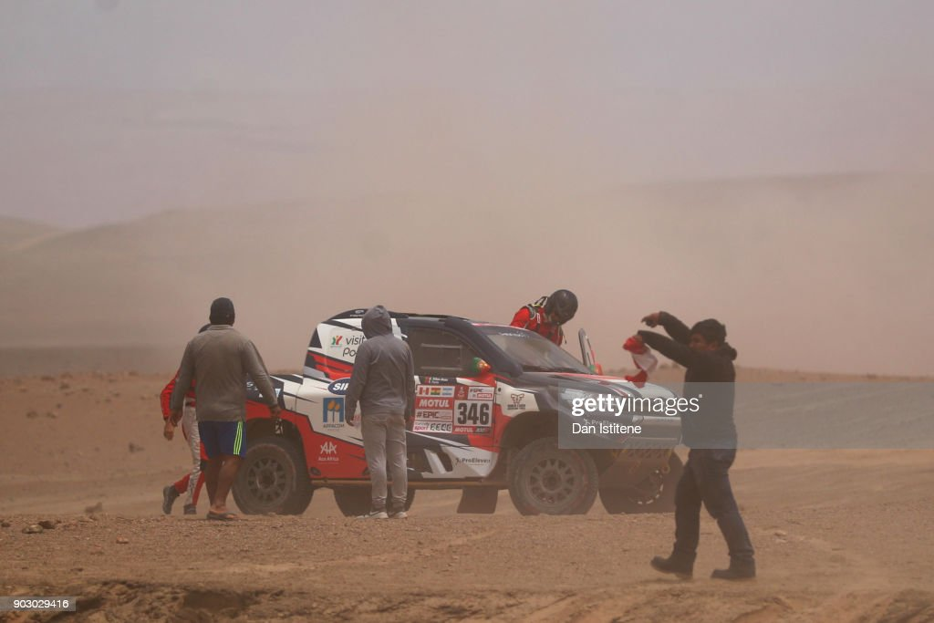 2018 Dakar Rally - Day Four