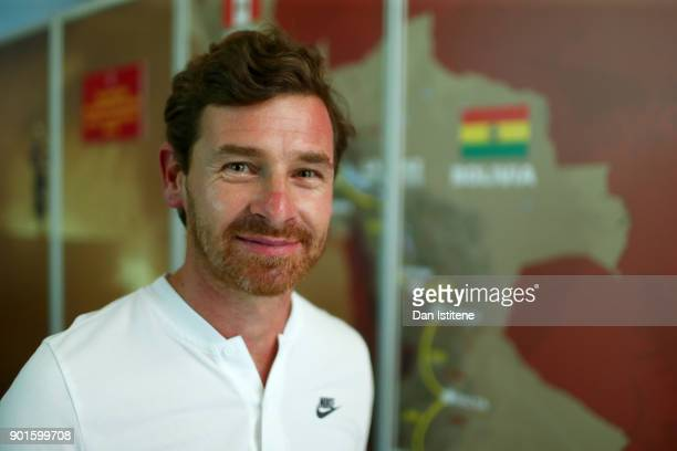 Andre Villas Boas of Portugal and Overdrive Toyota poses for a photograph during previews for the 2018 Dakar Rally on January 5 2018 in Lima Peru