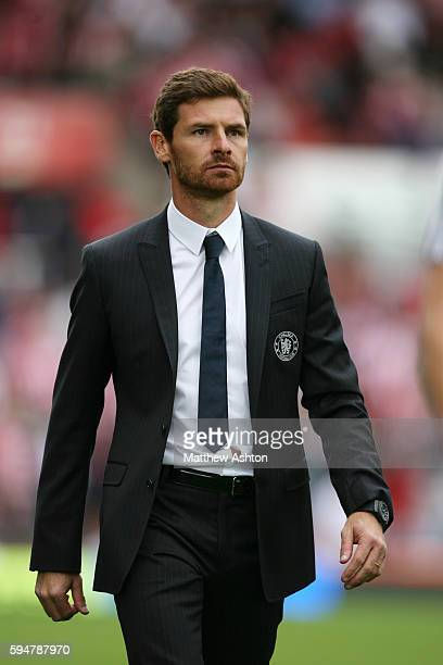 Andre Villas Boas the head coach / manager of Chelsea