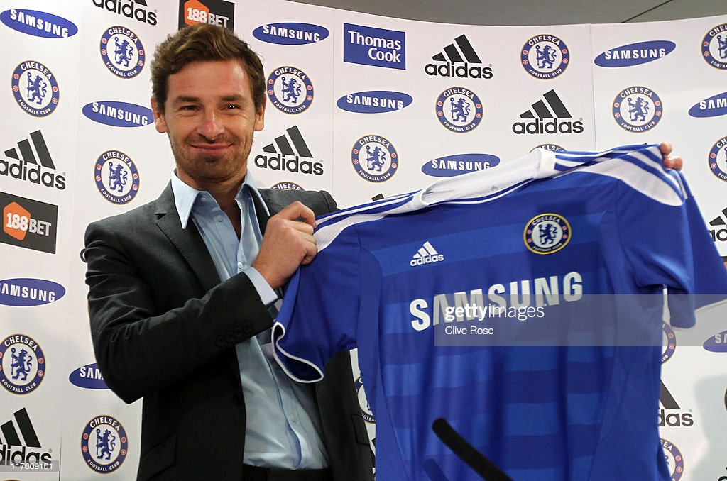 Andre Villas-Boas is Unveiled as New Chelsea Manager : News Photo