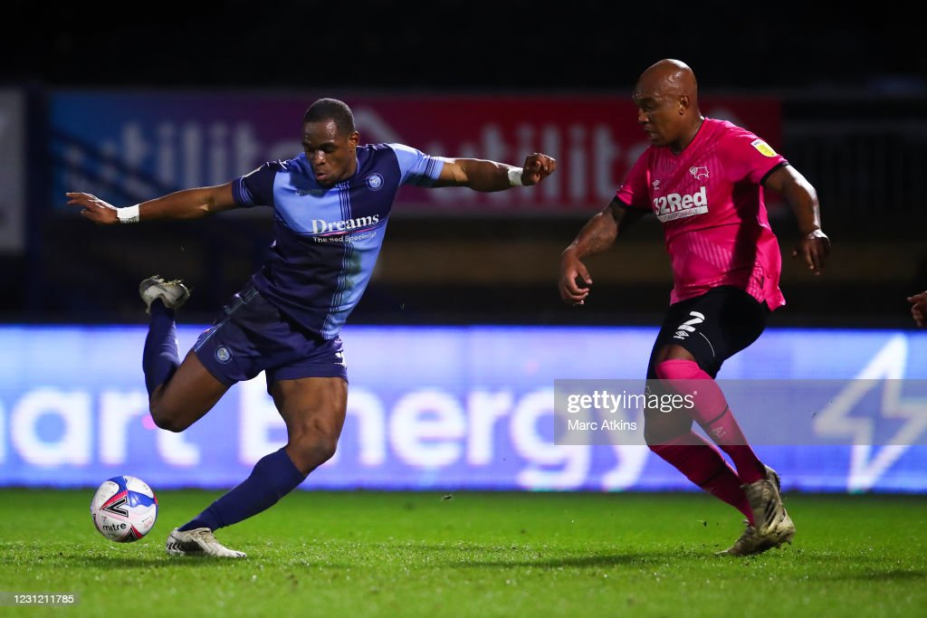 Wycombe Wanderers v Derby County - Sky Bet Championship : ニュース写真