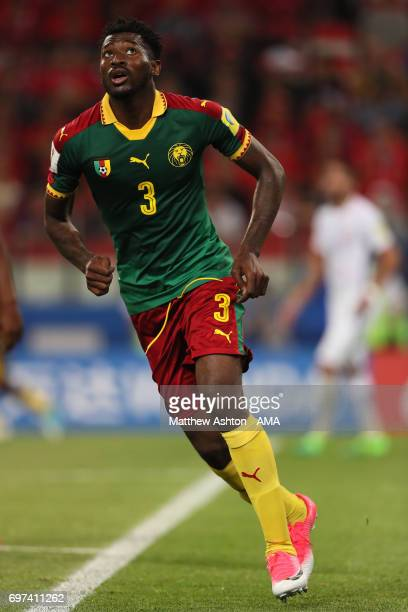 Andre Zambo Anguissa of Cameroon in action during the FIFA Confederations Cup Russia 2017 Group B match between Cameroon and Chile at Spartak Stadium...