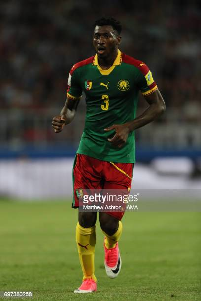 Andre Zambo Anguissa of Cameroon looks on during the FIFA Confederations Cup Russia 2017 Group B match between Cameroon and Chile at Spartak Stadium...