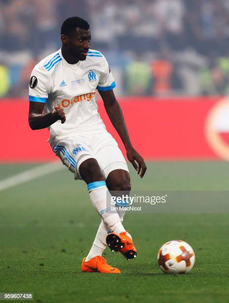 Andre Zambo Anguissa of Olympique de Marseille is seen during the UEFA Europa League Final between Olympique de Marseille and Club Atletico de Madrid...