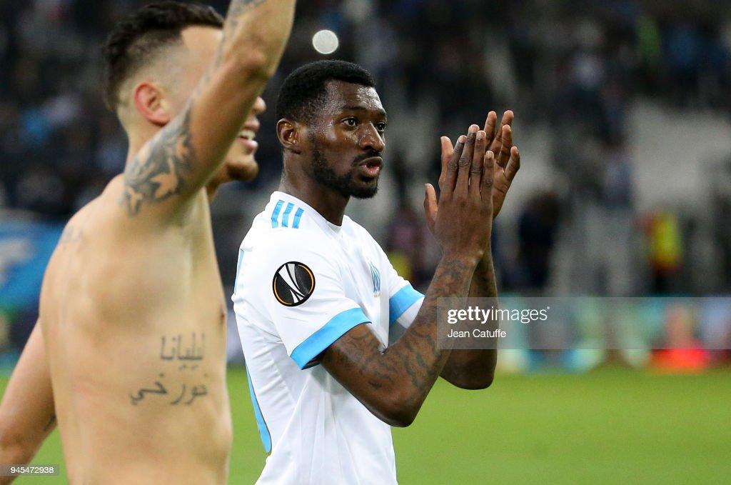 Olympique Marseille v RB Leipzig - UEFA Europa League Quarter Final Leg Two : Fotografía de noticias