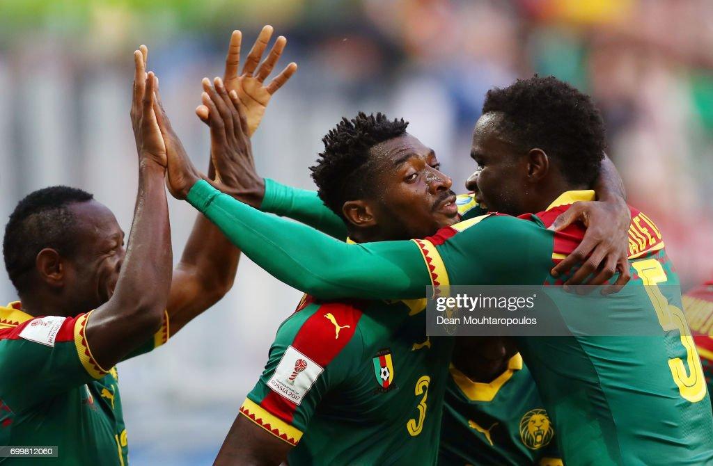 Cameroon v Australia: Group B - FIFA Confederations Cup Russia 2017 : Photo d'actualité