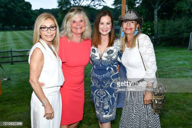 Andrea Ackerman Cheryl Kelly Judith Giuliani and Princess Yasmin Aga Khan attend Alzheimer's Association Hosts Rita Hayworth Gala Hamptons Kickoff at...