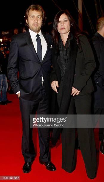 Andrea Amato and Paola Turci attend the 'Ritratto Di Mio Padre' premiere during the 5th Rome International Film Festival on October 27 2010 in Rome...