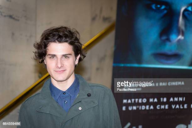 Andrea Arcangeli attends a photocall for 'The Startup'