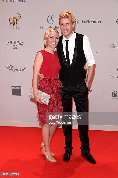 Andrea Arland and Maxi Arland attend the Tribute To Bambi at Station on October 17 2013 in Berlin Germany