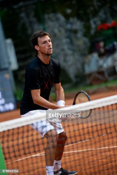 Andrea Arnaboldi during match between Facundo Bagnis /Ariel Behar and Andrea Arnaboldi/Daniele Bracciali during day 4 at the Internazionali di Tennis...