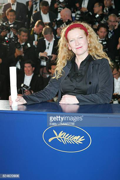 Andrea Arnold at the award winners photo call during the 59th Cannes Film Festival