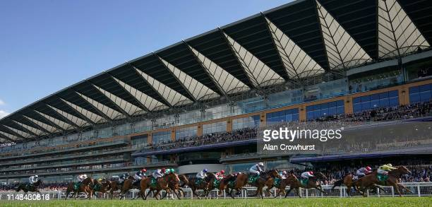 Andrea Atzeni riding Cape Byron win The Tote Victoria Cup at Ascot Racecourse on May 11 2019 in Ascot England