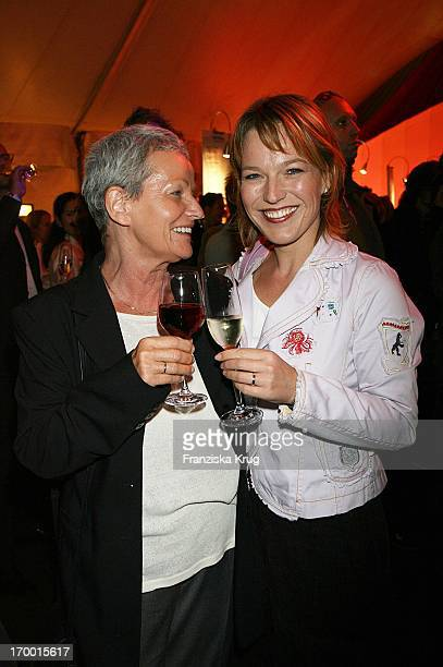 Andrea Ballschuh And mother Gabi at The Dralion premiere from Cirque Du Soleil in Berlin 300806