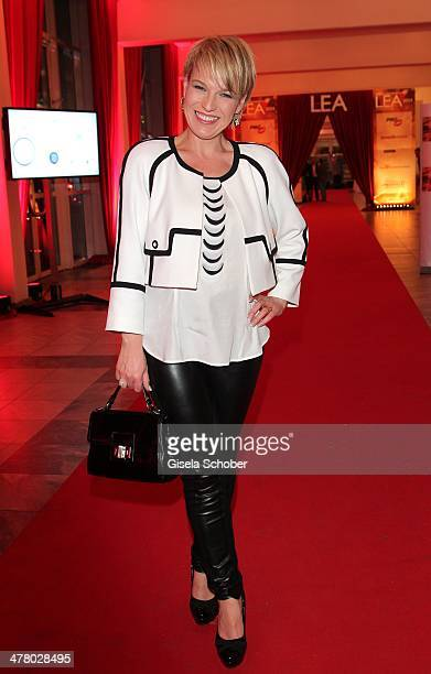 Andrea Ballschuh attend the LEA Live Entertainment Award 2014 at Festhalle Frankfurt on March 11 2014 in Frankfurt am Main Germany