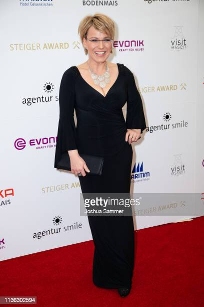 Andrea Ballschuh attends the 14th Steiger Award at Zeche Hansemann on March 16 2019 in Dortmund Germany