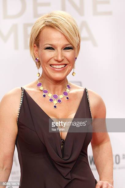 Andrea Ballschuh attends the Goldene Kamera 2016 on February 6 2016 in Hamburg Germany