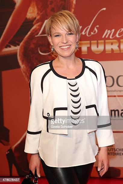 Andrea Ballschuh attends the LEA Live Entertainment Award 2014 at Festhalle Frankfurt on March 11 2014 in Frankfurt am Main Germany