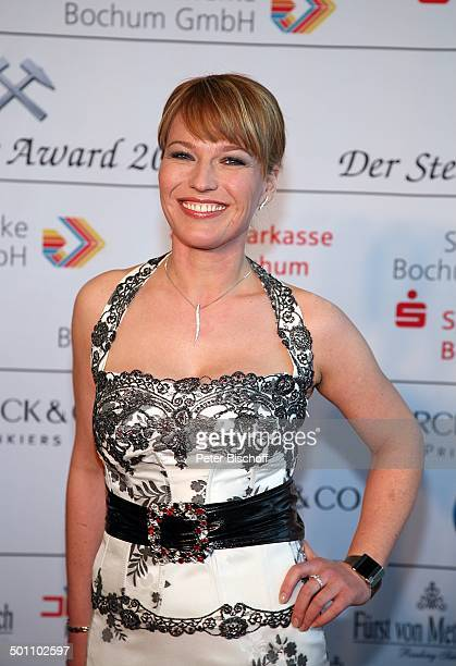 Andrea Ballschuh Gala Verleihung 'Steiger Award 2008' Bochum NordrheinWestfalen Deutschland Europa 'Jahrhunderthalle' roter Teppich Dekollete...
