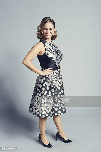 Andrea Barber poses for a portrait at the 2017 People's Choice Awards at the Microsoft Theater on January 18, 2017 in Los Angeles, California.