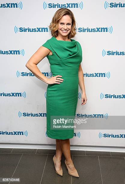 Andrea Barber visits at SiriusXM Studio on December 9 2016 in New York City