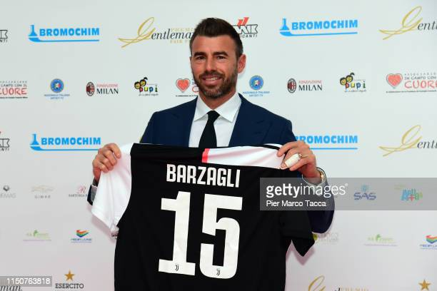 Andrea Barzagli attends the Gentleman Prize event on May 20, 2019 in Milan, Italy.