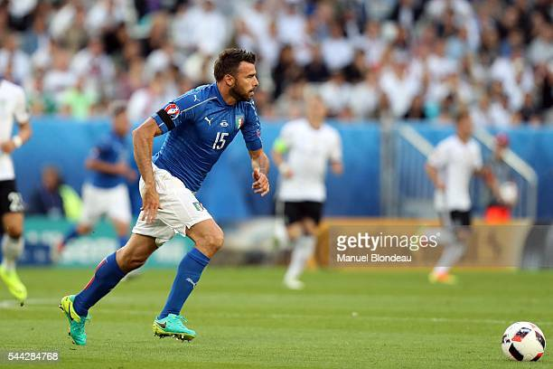 Andrea Barzagli of Italy during the UEFA Euro 2016 Quater Final between Germany and Italy at Stade Matmut Atlantique on July 2 2016 in Bordeaux France