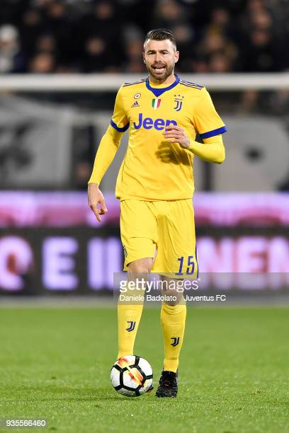 Andrea Barzagli of Juventus during the serie A match between Spal and Juventus at Stadio Paolo Mazza on March 17 2018 in Ferrara Italy
