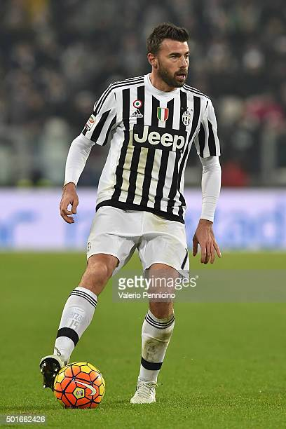 Andrea Barzagli of Juventus FC in action during the Serie A match betweeen Juventus FC and ACF Fiorentina at Juventus Arena on December 13 2015 in...
