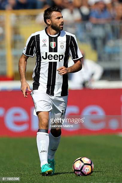 Andrea Barzagli of Juventus FC in action during the Serie A match between Empoli FC and Juventus FC at Stadio Carlo Castellani on October 2 2016 in...