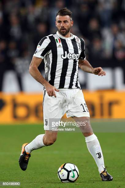 Andrea Barzagli of Juventus in action during the Serie A match between Juventus and ACF Fiorentina on September 20 2017 in Turin Italy
