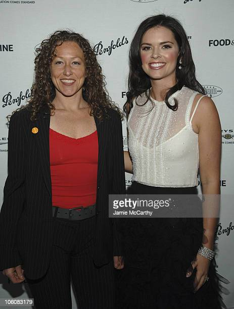 Andrea Beaman of Bravo's Top Chef and Katie Lee Joel
